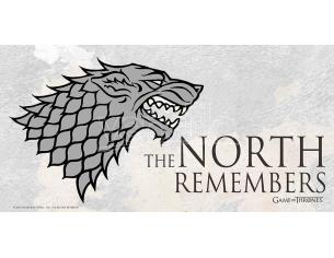 SD TOYS GAME OF THRONES NORTH REMEMBER ON GLASS POSTER