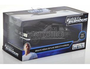 JADA TOYS 253202000 Fast & Furious Nissan Skyline 2000 GT-R di Brian Die Cast 1:32