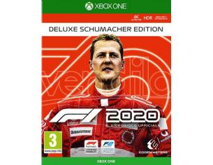 F1 2020 DELUXE SCHUMACHER EDITION GUIDA/RACING - XBOX ONE
