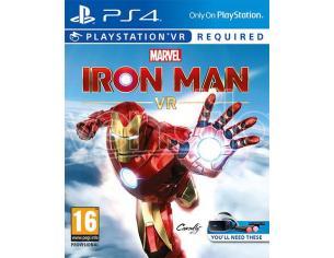 MARVEL'S IRON MAN VR AZIONE AVVENTURA - PLAYSTATION 4