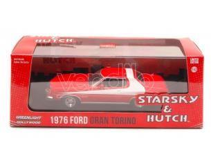 Greenlight GREEN86442 FORD GRAN TORINO 1976 STARSKY & HUTCH 1:43 Modellino