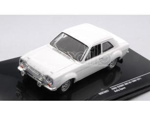 IXO MODEL MDCS027 FORD ESCORT MK I WHITE 1971 PLAIN BODY VERSION 1:43 Modellino