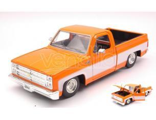 Jada Toys Jada31607or Chevy C10 Glossy Arancione/white 1:24 Modellino