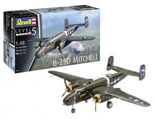 REVELL RV04977 B-25D MITCHELL KIT 1:48 Modellino