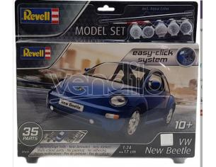 REVELL RV67643 VW NEW BEETLE MODEL SET KIT 1:24 Modellino