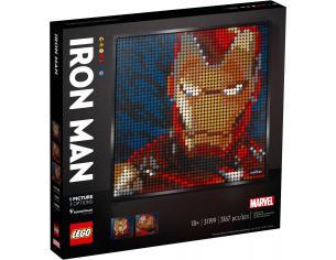 LEGO ART 31199 - IRON MAN MARVEL STUDIOS