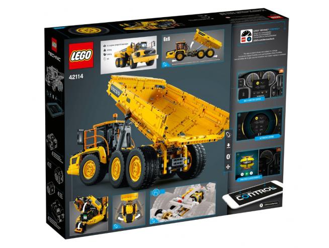 LEGO TECHNIC 42114 - 6X6 VOLVO - CAMION ARTICOLATO