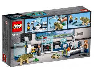 LEGO JURASSIC WORLD 75939 - IL LABORATORIO DEL DOTTOR WU: FUGA DEI BABY DINOSAURI