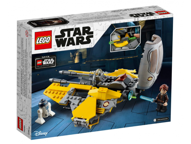 LEGO STAR WARS 75281 - JEDI INTERCEPTOR DI ANAKIN