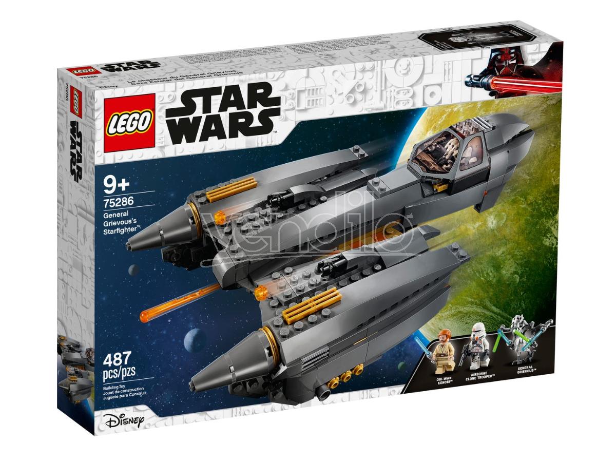 LEGO STAR WARS 75286 - STARFIGHTER DEL GENERALE GRIEVOUS