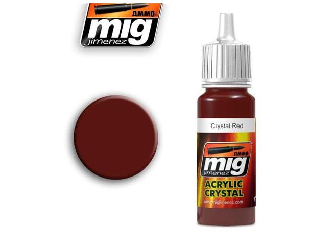 AMMO BY MIG JIMENEZ CRYSTAL RED 0093 COLORI