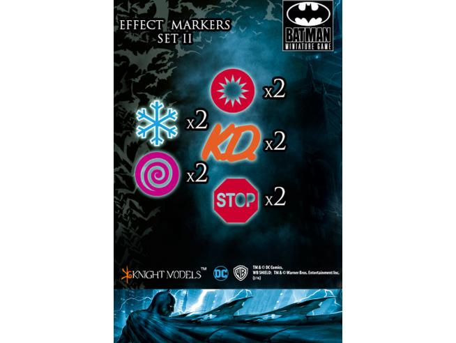 KNIGHT MODELS BMG EFFECTS MARKERS II WARGAME