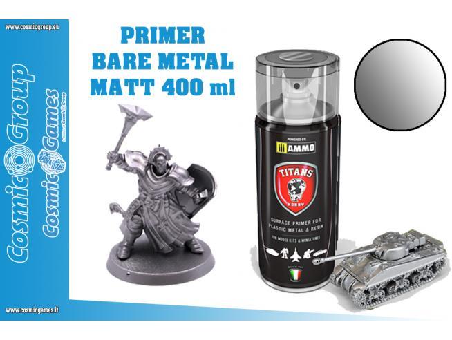 Titans Hobby Bare Metallo Primer - 400ml Spray Colori