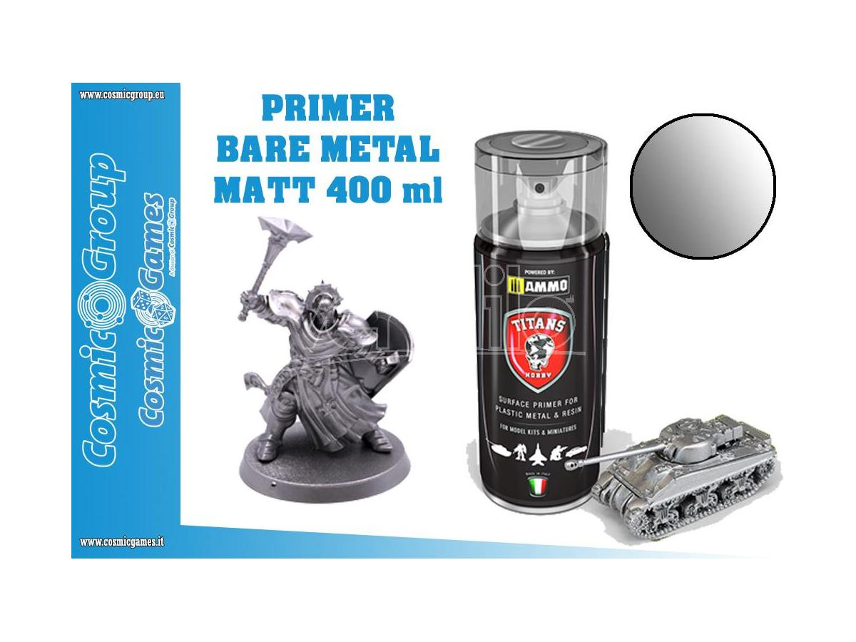 TITANS HOBBY BARE METAL PRIMER - 400ML SPRAY COLORI