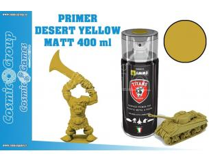 TITANS HOBBY DESERT YELLOW MATT PRIMER - 400ML SPRAY COLORI