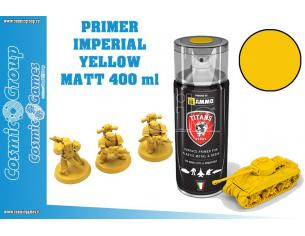 TITANS HOBBY IMPERIAL YELLOW MATT PRIMER-400ML SPRAY COLORI
