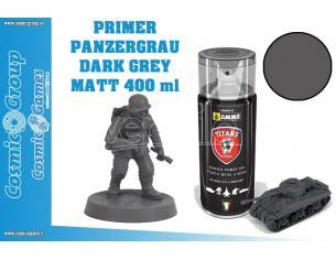 TITANS HOBBY PANZERGRAU MATT PRIMER - 400ML SPRAY COLORI