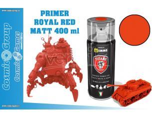 TITANS HOBBY ROYAL RED MATT PRIMER - 400ML SPRAY COLORI