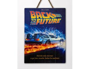 DOCTOR COLLECTOR BTTF WOOD POSTER 1 POSTER