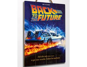 BACK TO THE FUTURE WOOD POSTER 1 POSTER DOCTOR COLLECTOR
