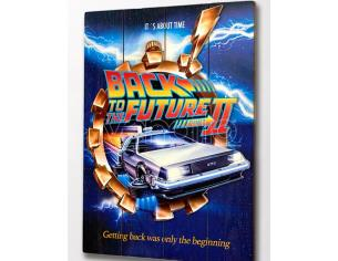 DOCTOR COLLECTOR BTTF WOOD POSTER 2 POSTER
