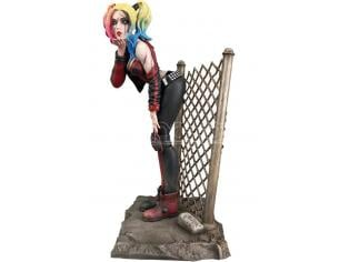 DIAMOND SELECT DC GALLERY DCEASED HARLEY QUINN STATUE STATUA