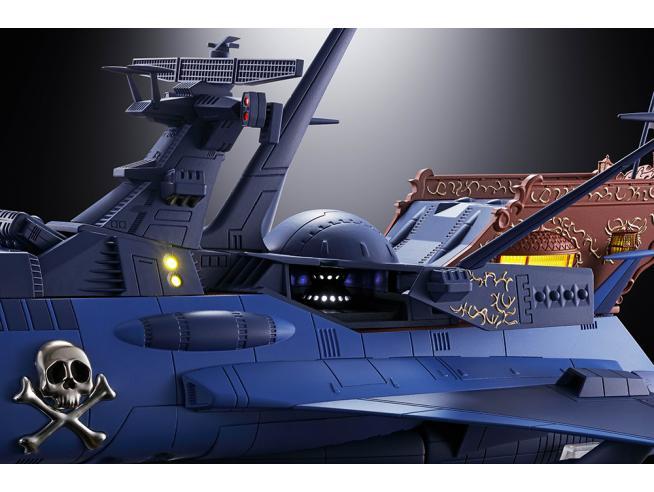 BANDAI GX-93 SPACE PIRATE BATTLESHIP ARCADIA ACTION FIGURE