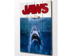 DOCTOR COLLECTOR JAWS WOODEN POSTER POSTER