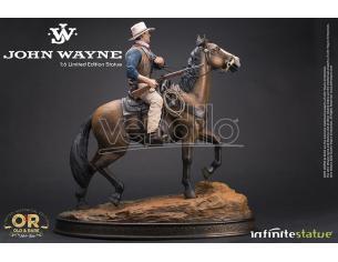 JOHN WAYNE CON CAVALLO OLD & RARE STATUA 1/6 INFINITE STATUE RESINA