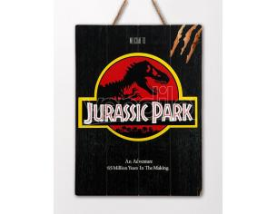 DOCTOR COLLECTOR JURASSIC PARK 1993 WOODEN POSTER POSTER