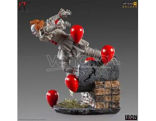 IRON STUDIO PENNYWISE IT VOL.2 DLX 1/10 ART STATUA