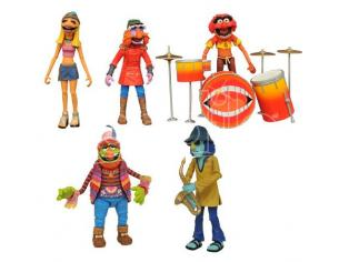 DIAMOND SELECT SDCC 2020 MUPPETS DLX BAND MEMBERS AF ACTION FIGURE