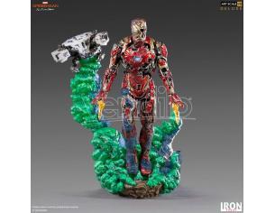 IRON STUDIO SPIDER-MAN FFH IRON MAN ILLUSION 1/10 ST STATUA