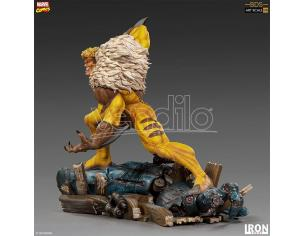 IRON STUDIO X-MEN SABRETOOTH 1/10 ART STATUE STATUA