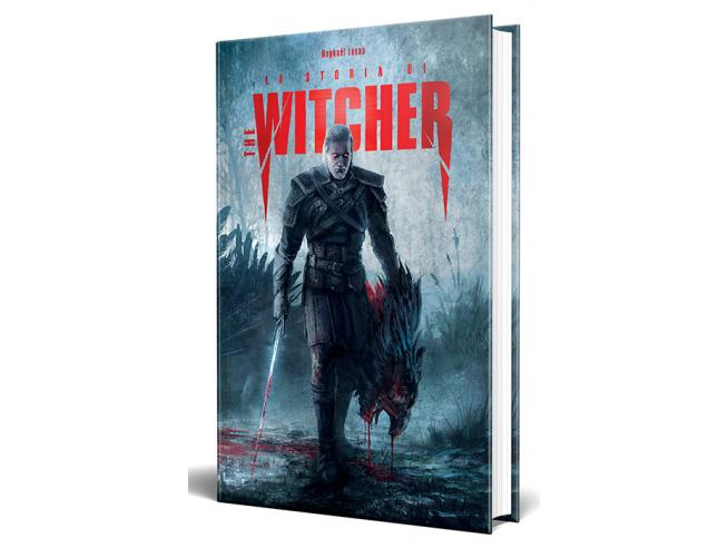 LA STORIA DI THE WITCHER LIBRI/ROMANZI - GUIDE/LIBRI