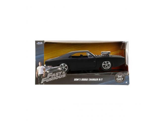 JADA TOYS Fast&Furious Dodge Charger DieCast 1:24 Funzionamento Ruota Libera