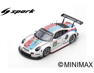 SPARK MODEL S87153 PORSCHE 911 RSR N.94 LM 2019 MULLER-JAMINET-OLSEN 1:43 Modellino