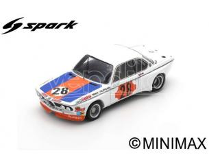 SPARK MODEL SB226 BMW CSL N.28 WINNER GR.2 COUPE DE SPA 1973 NIKI LAUDA 1:43 Modellino
