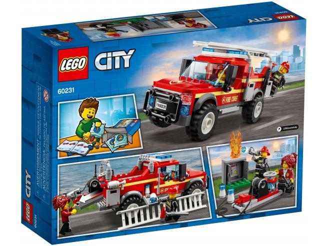 LEGO CITY TOWN & SUPPLEMENTARY 60231 - FUORISTRADA DEI VIGILI DEL FUOCO