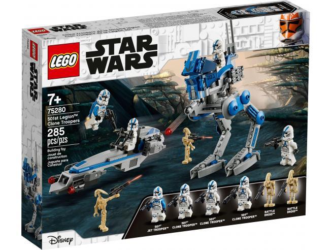 LEGO STAR WARS 75280 - CLONE TROOPER DELLA LEGIONE 501