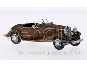 NEO SCALE MODELS NEO45013 MERCEDES 290 ROADMASTER W18 1937 DARK BROWN 1:43 Modellino