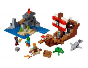 LEGO MINECRAFT 21152 - AVVENTURA SUL GALEONE DEI PIRATI
