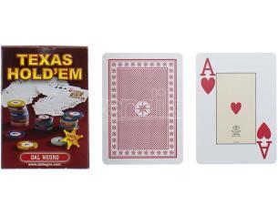 Dal Negro 21019 Texas Hold'em Carte da Gioco