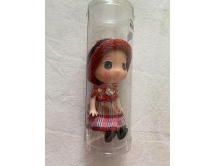 La Tate Bambolina Milady Cappellino Rosso 8 cm