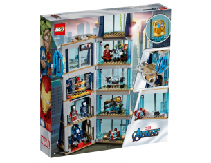 LEGO MARVEL SUPER HEROES 76166 - AVENGERS TOWER BATTLE