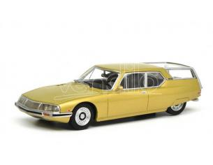 SCHUCO SH0212 CITROEN SM SHOOTING BRAKE GOLD 1:18 Modellino