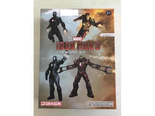 DRAGON DR35804 IRON MAN 3 MARK 35 RED SNAPPER ARMOR 1/24 KIT