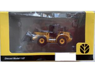 NEW HOLLAND W190B EHEEL LOADER GIALLO 1/87 MODELLINO SCATOLA ROVINATA