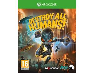DESTROY ALL HUMANS! AZIONE - XBOX ONE