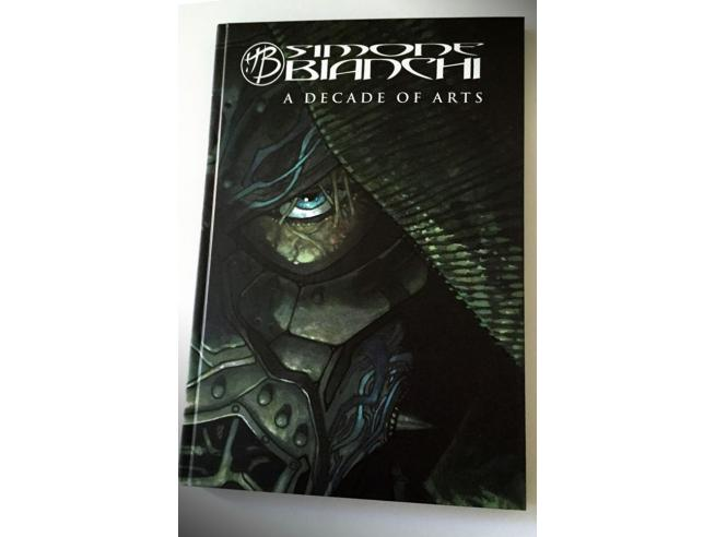 COSMIC ART S.BIANCHI-A DECADE OF ARTS ARTBOOK LIBRO